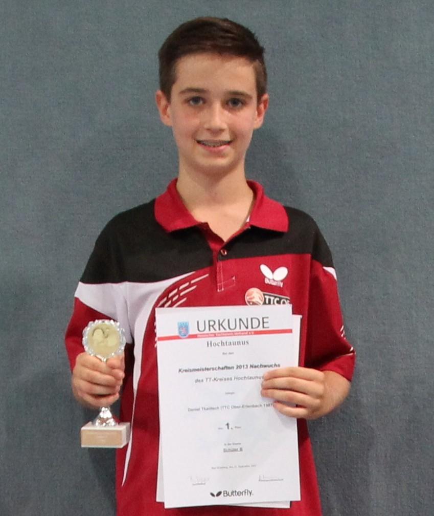 Zweiter Platz für Daniel Tkalitsch im Doppel