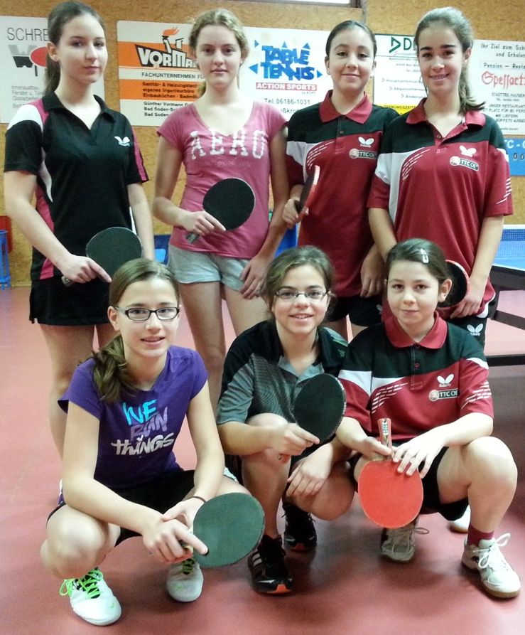 Mädchen der Umboldtschule Bad Homburg