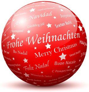 TT-Ball Frohe Weihnachten