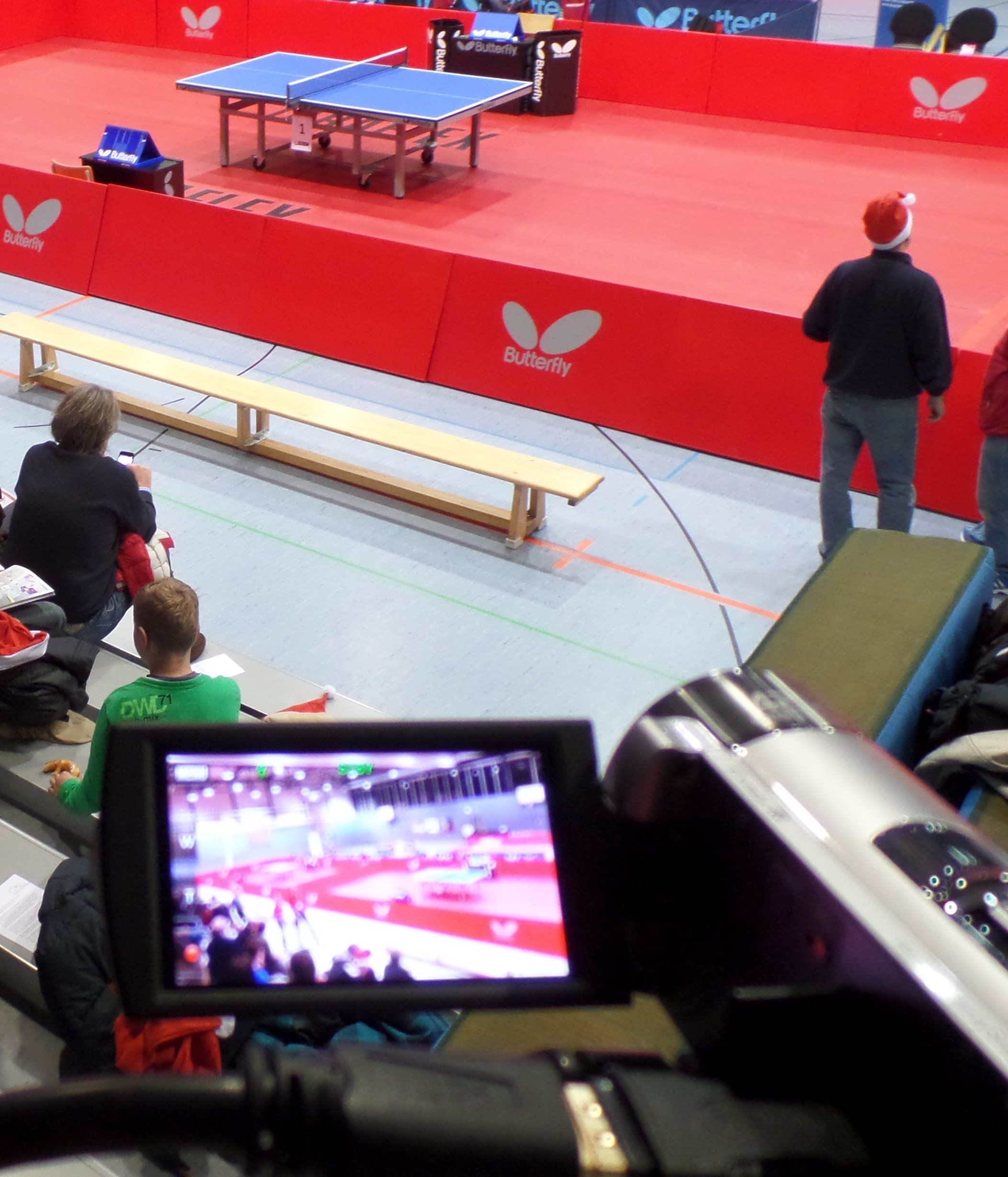 Videokamera im TTCOE-Einsatz