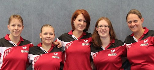Damenteam des TTC OE