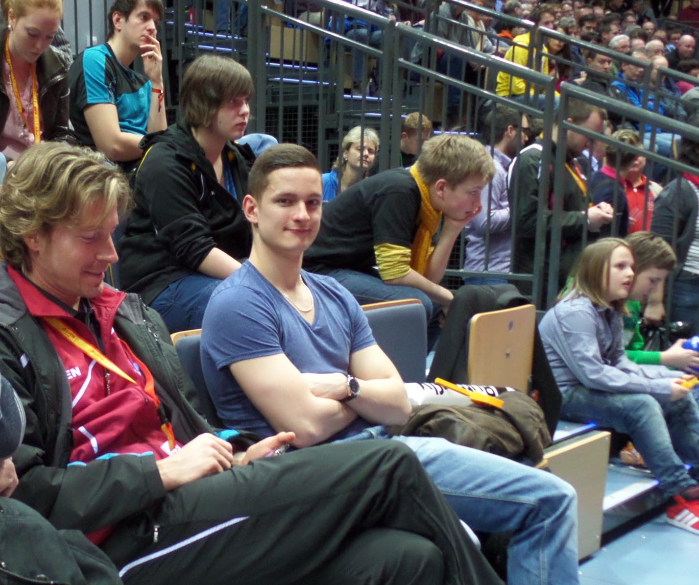 images/Jo und Jens unter den Zuschauern.jpg