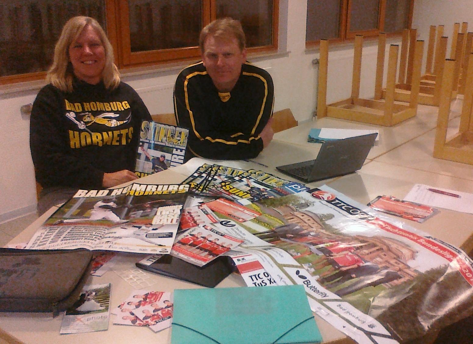 images/Deanna Rockenbach und Roland Spitzegger Baseball Hornets Bad Homburg.jpg