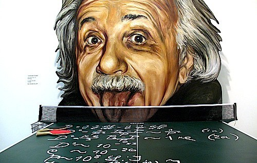 /Albert Einstein und Tischtennis.jpeg