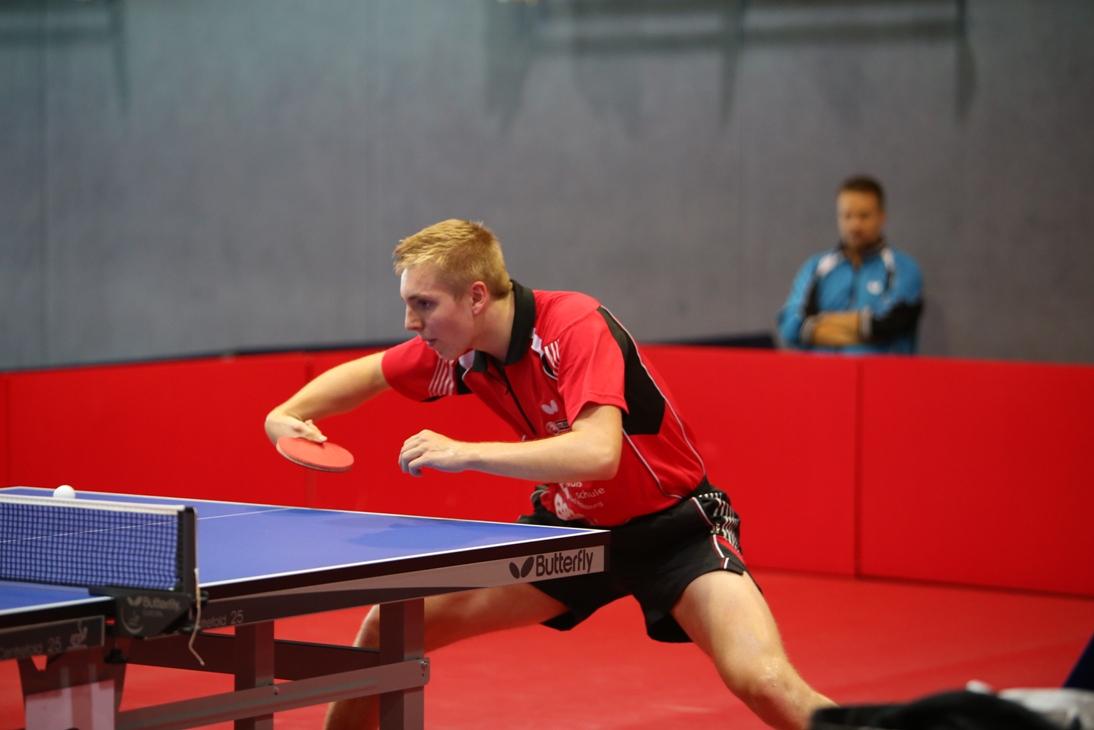 Dominik Scheja im Spiel gegen Saarbrücken