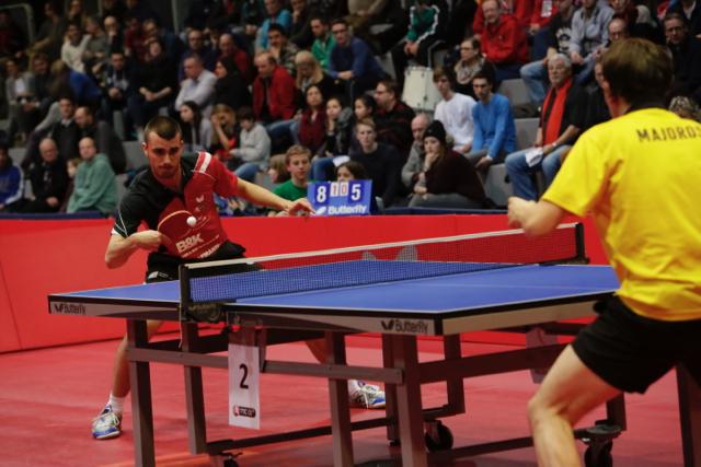 Tomislav Pucar bei seinem 3:0 Sieg gegen Bence Majoros